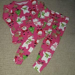 Carter's Holiday 2 PC Pajama Set - 2T